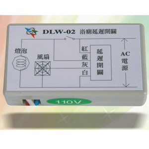 DLW-002 Off-Delay Switch-Ceiling Type
