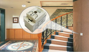 Application place: PIR-612 Mini PIR Sensor, Mini Light Sensor